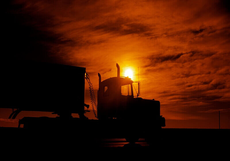 truck-sunset-daycab-clouds